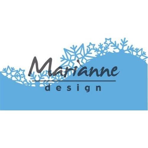 Marianne Design LR0486 - Creatable Border Ice crystals 6