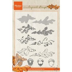 TC0857 - Clear Stamp Tiny's autumn (layering)