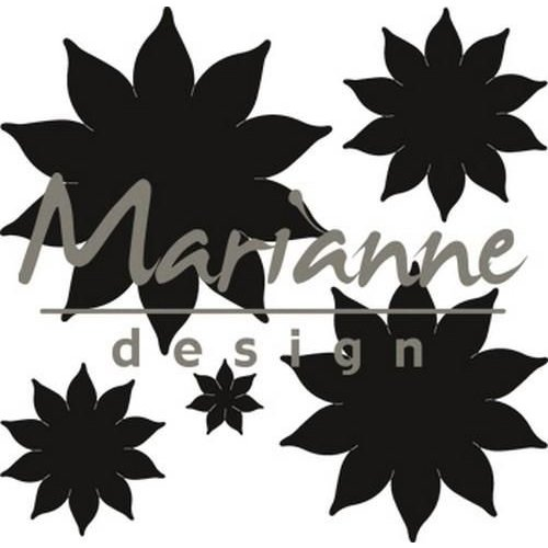 Marianne Design CR1431 - Craftable Succulent (pointed) 1