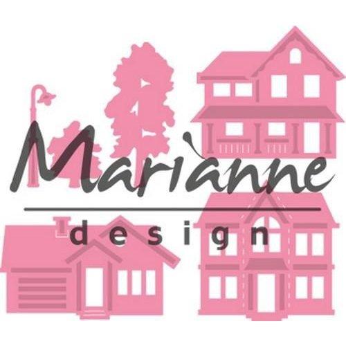 Marianne Design COL1451 - Collectable mini dorp 51 32x31 - 39x23mm