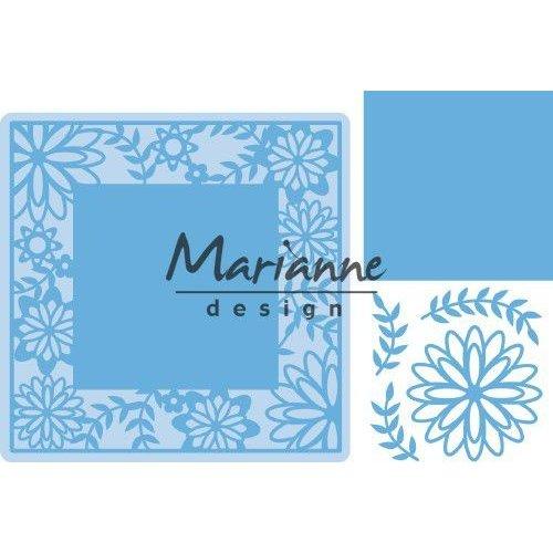 Marianne Design LR0577 - Marianne Design Creatable Flower Frame square
