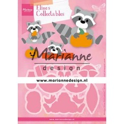 COL1472 - Marianne Design Collectable Eline's Raccoon