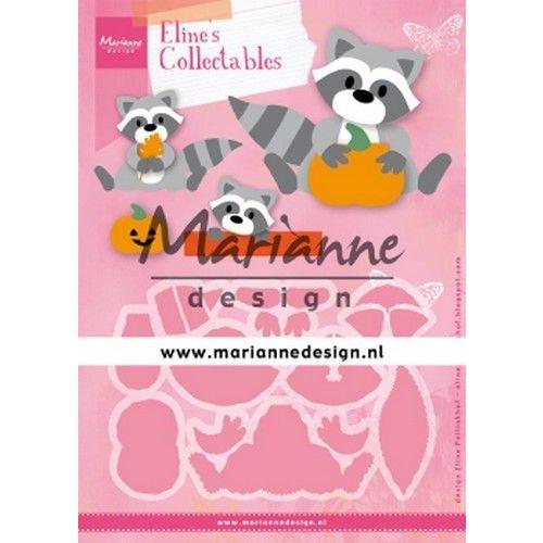 Marianne Design COL1472 - Marianne Design Collectable Eline's Raccoon
