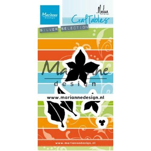 Marianne Design CR1478 - Marianne Design Craftable Poinsettia by Marleen