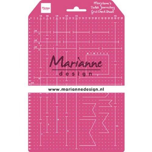 Marianne Design LR0030 - Marjoleine's Grid Cheat Sheet