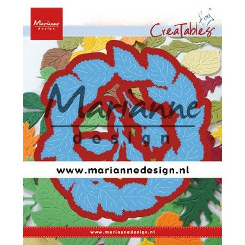 Marianne Design LR0624 - Marianne Design Creatable Tiny's Leaves Wreath