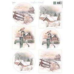 MB0182 - Knipvel A4 Mattie's Mooiste Dutch Winter