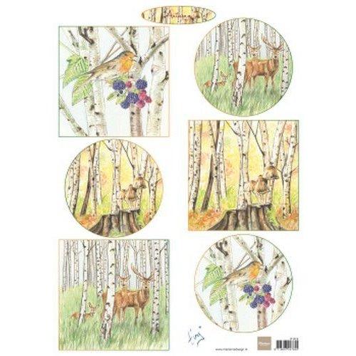 Marianne Design IT612 - Knipvel A4 Tiny's Autumn