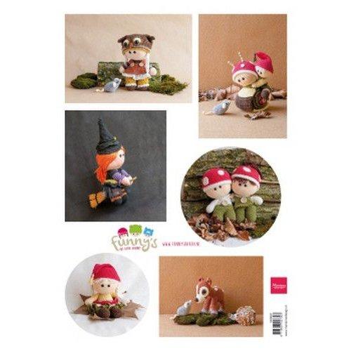 Marianne Design VK9581 - Knipvel A4 Ilse's Funny's - Fall