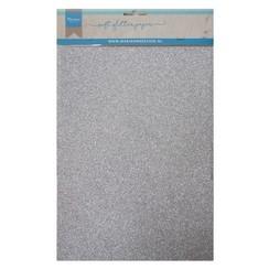 CA3142 - Soft Glitter paper - Silver