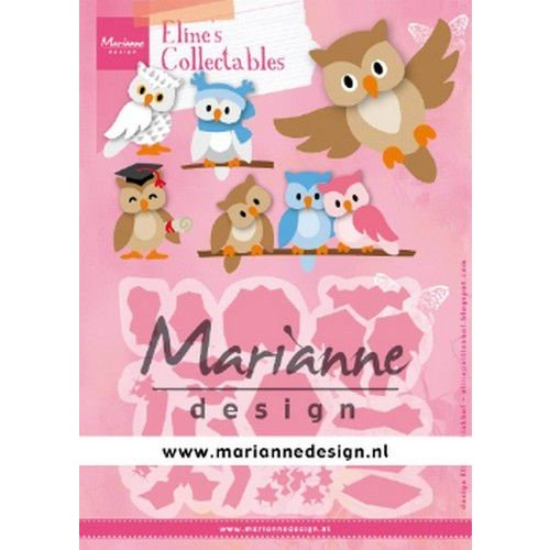 Marianne Design COL1475 - Marianne Design Collectable Eline's Owl