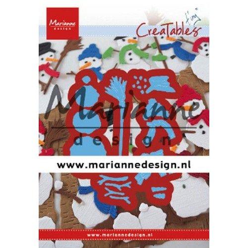 Marianne Design LR0631 - Marianne Design Creatable Tiny's Frosty snowmen