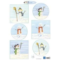 IT613 - Knipvel A4 Tiny's Snowmen