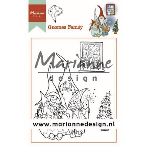 Marianne Design HT1650 - Clear Stamps Hetty's Gnomes Family