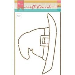 PS8044 - Craft Stencil Witch Hat