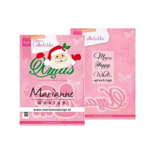 Marianne Design COL1477 - Marianne Design Collectable Eline's Santa Xmas