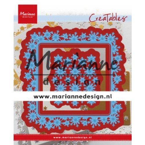Marianne Design LR0633 - Marianne Design Creatable Snowflakes square