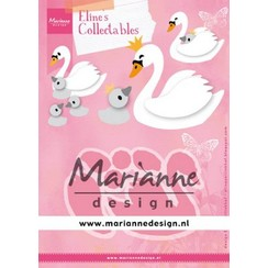 COL1478 - Marianne Design Collectable Eline's Swan