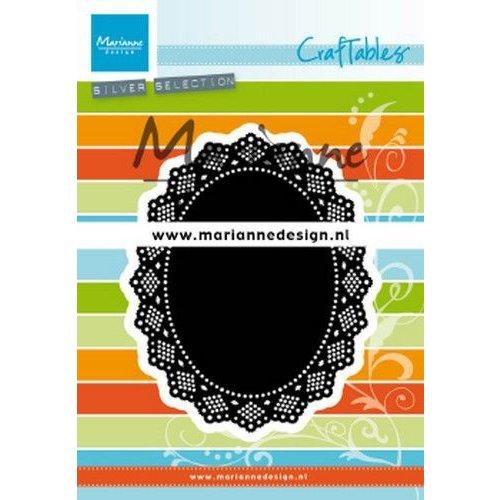 Marianne Design CR1500 - Marianne Design Craftable Shaker oval