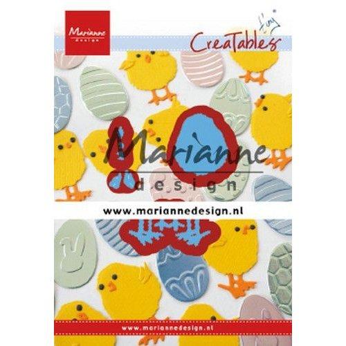 Marianne Design LR0644 - Marianne Design Creatable Tiny's Easter chick