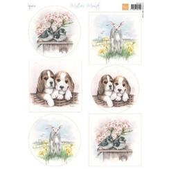 MB0184 - Knipvel A4 Mattie's Mooiste Spring