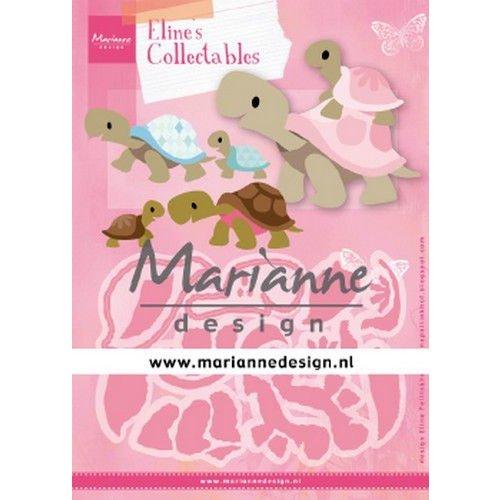 Marianne Design COL1480 - Eline's Turtles