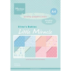 PB7058 - Elines babies little miracles A4 double sided