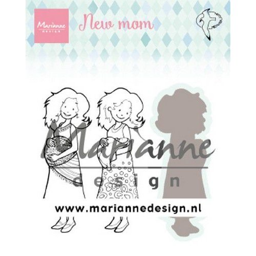 Marianne Design HT1651 - Hetty's new mom