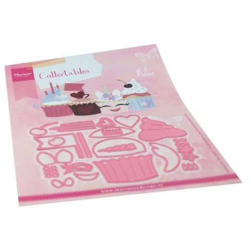 Marianne Design COL1481 - Collectable - Cupcakes by Marleen