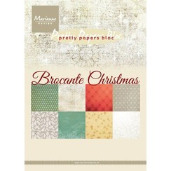 PK9171 - Paperpad - Brocante Christmas