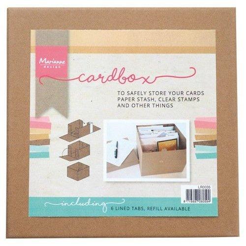 Marianne Design LR0035 - Tools Cardbox
