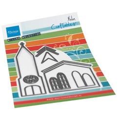 CR1520 - Marianne Design Craftable Church by Marleen