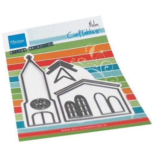 Marianne Design CR1520 - Marianne Design Craftable Church by Marleen