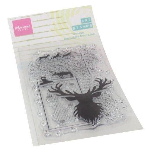 Marianne Design MM1637 - Clear Stamps Art stamps - Deer