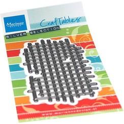 CR1533 - Marianne Design Craftable Art texture Squares