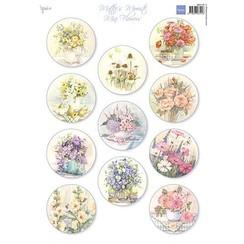MB0190 - Knipvel A4 Mattie's Mini's – Flowers