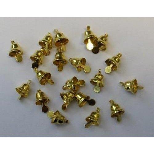 12244-4411 - Klokjes goudkleur 8 mm 20 ST 1 PK -4411