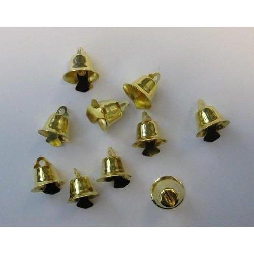 12244-4414 - Klokjes goudkleur 15 mm 10 ST 1 PK -4414