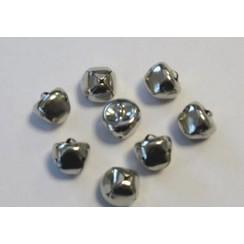 12239-3904 - Christmas bells, 15mm, Silver, 8pcs