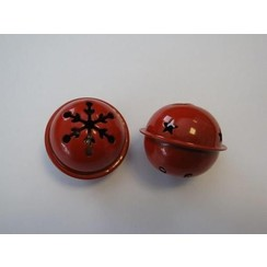 12241-4106 - Christmas bell, 40mm, Red, 1pce