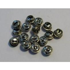 12243-4301 - Kattebelletjes zilver 10 mm 16 ST
