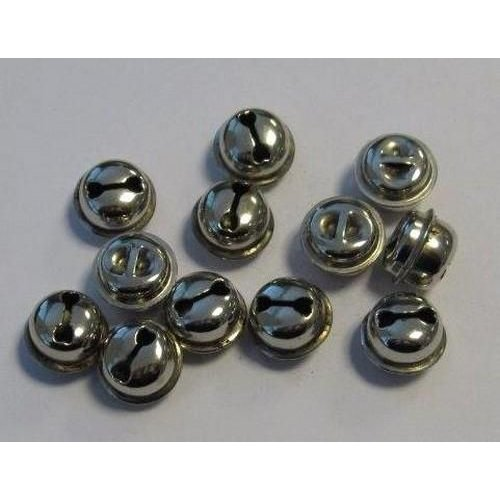 12243-4302 - Kattebelletjes zilver 13 mm 12 ST
