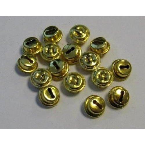 12243-4311 - Kattebelletjes goudkleur 10 mm 16 ST