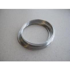 12269-6901 - Aluminiumdraad zilverkleur 1,0 mm 8 MT