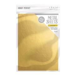 9581E - Tonic Studios Craft Perfect Metal Sheets - Empire Gold