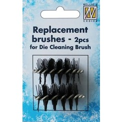 RDCB001 - Spare Brushes for Die Cleaning Brush 2pcs