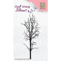 SIL007 - Nellie's Choice Clearstamp - Silhouette boom-1 7