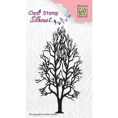 SIL008 - Nellie's Choice Clearstamp - Silhouette boom-2 8