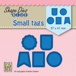 SDB078 - Shape Dies Blue Small tags