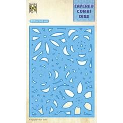 LCDB006 - Layered combi Dies Flowers-3 (Layer C)